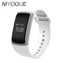 Niyoque A09 Bluetooth Smart группа крови Давление кислорода сердечного ритма Health Monitor трекер активности Водонепроницаемый SmartBand