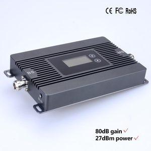 Image 3 - 신제품! 80dbi 이득 2g 3g 850 mhz 모바일 신호 부스터 cdma 850 mhz celular 신호 증폭기 리피터 전용 리피터 + 어댑터