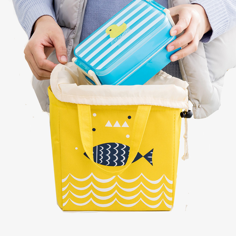 Oxford Food Lunch Bag Cooler for Drink Coke Thermal Insulated Picnic Handy Storage Travel Pouch Accessories Supplies