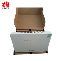 Original ONT HS8546V HS 8546V GPON Router FTTH GPON ONU 4GE 4Port+1TEL+2USB+Wifi English firmware for Huawei MA5608T/MA5683T