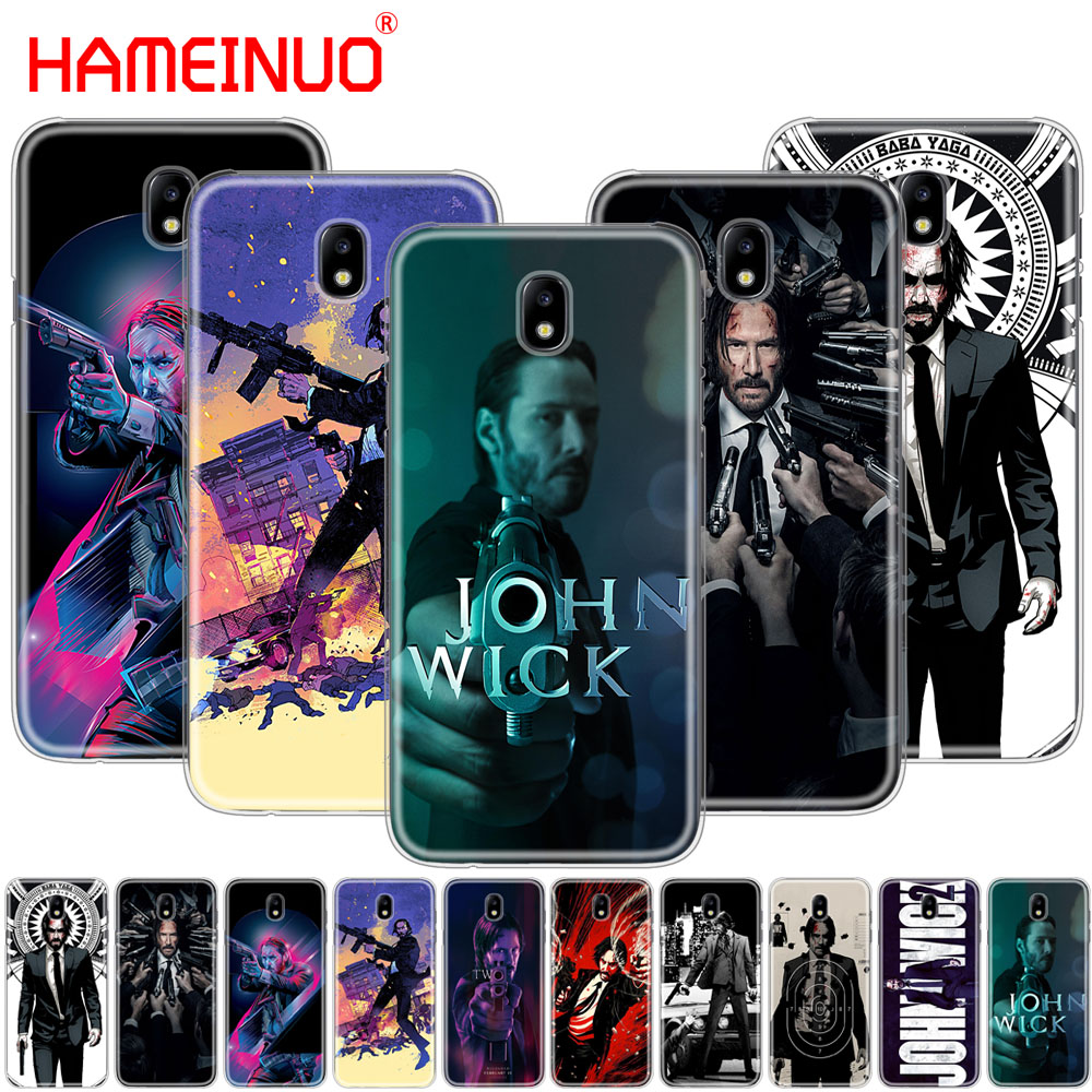 HAMEINUO John Wick cover phone case for Samsung Galaxy J3 J5 J7 2017 J527 J727 J327 J330 J530 J730 PRO