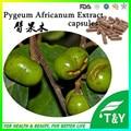 500 mg * 800 pcs/lote Fornecimento de pygeum africanum extrato/pygeum topengii/extrato de pygeum bark extract