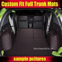 Пользовательские подходят багажник автомобиля коврики для BMW 3/4/5/6/7 серии GT X1 X3 X4 X5 X6 3D авто Стайлинг любую погоду ковры коврики багажника 5 ме