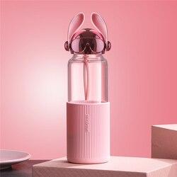 Стеклянная бутылка с ушками