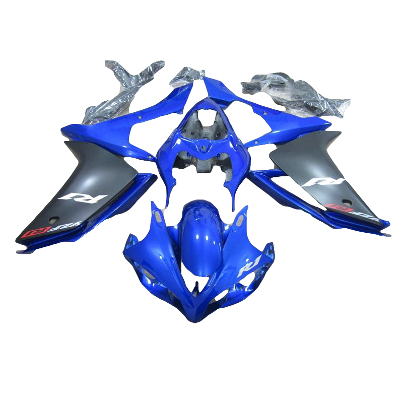 ABS fairing kit for YAMAHA YZF R1 07 08 YZF R1 grey black 2007 2008  fairings 7 gifts xl51 blue for yamaha yzf 1000 r1 2007 2008 yzf1000r inject abs plastic motorcycle fairing kit yzfr1 07 08 yzf1000r1 yzf 1000r cb02