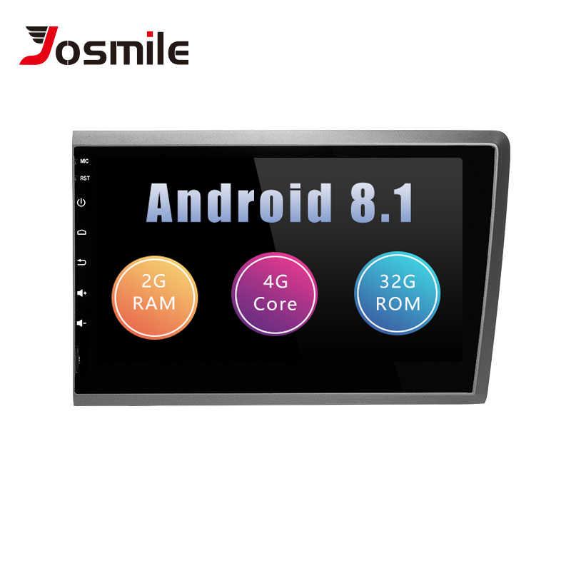 2 din Android 8,1 автомагнитола gps для VOLVO S60 VOLVO V50 V70 XC70 2000 2001 2002 2003 2004 мультимедиа головное устройство навигация Wifi 4G