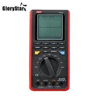 Gloire Étoiles UT81B Poche LCD Scopemeters Oscilloscope 8 MHz 40 MS/s Taux D'échantillonnage en Temps Réel Multimètres Numériques Avec USB Interface