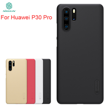 For Huawei p30 Pro Case Cover NILLKIN Fitted Cases For Huawei p30 Pro High Quality Super Frosted Shield For Huawei p30 Pro for huawei p40 pro case cover nillkin fitted cases for huawei p40 pro high quality super frosted shield for huawei p40 pro