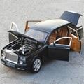 НОВЫЙ 1:24 Масштаб Коллекционные Diecast Rolls Royce Модели Сплава Автомобиля Металла Toys Для Детей Подарок Высокая Моделирования 6 Открытых Дверей