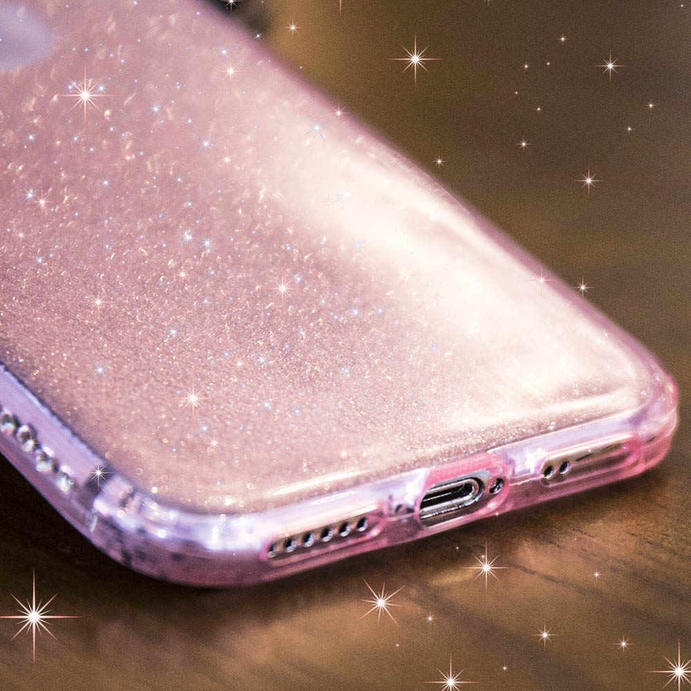 Funda NYFundas para iphone 8, 7, 6, 6 s plus, 8 plus, funda protectora de silicona brillante a prueba de golpes para iphone XS MAX XR