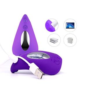 Image 3 - Szminka Dildo wibrator sex zabawki dla kobiet stymulator łechtaczki G Spot masażer waginy bezprzewodowe wibrujące jajka poręczne majtki