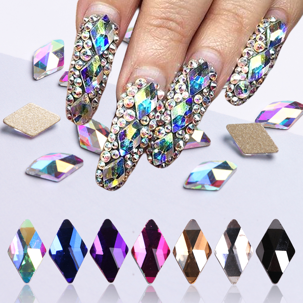 AB Color Nail Sequins1