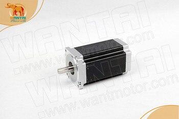 Power Motor! CNC Wantai Nema34 Stepper Motor 85BYGH450C-060 1600oz-in 151mm 6A Dual Flat Shaft CE ROHS ISO Milling Machine