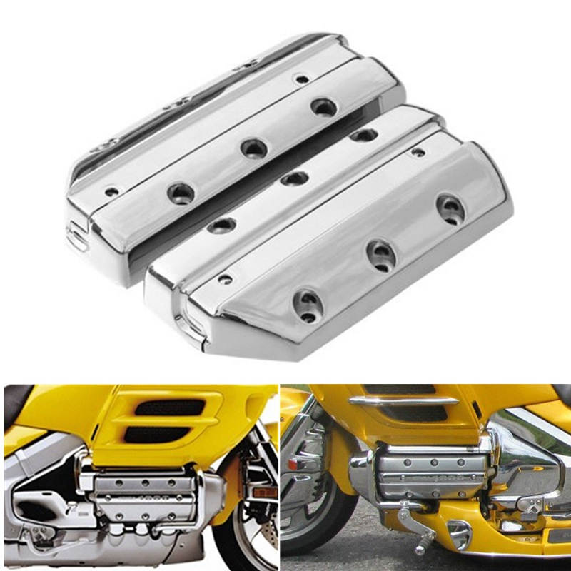Chrome Valve Cover Cylinder For Honda Goldwing 1800 GL1800 2001-2013 2002 2003