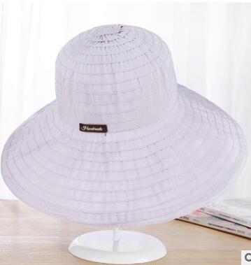 2018 Yaratui Free shipping Casual cloth large female hat sun hat beach resort sun hat foldable
