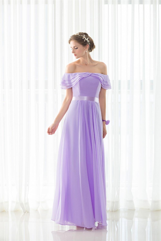 Magnífico Vestido De La Dama De Honor Con Gradas Ideas Ornamento ...