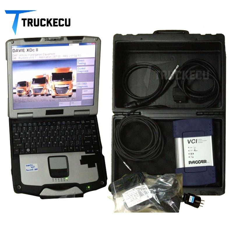 Camion de diagnostic kit pour DAF paccar DAF Davie VCI560 avec cf30 portable ensemble complet