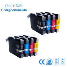 LC960 LC970 2SETS Compatible Ink Cartridge for Brother DCP DCP-130C DCP-135C DCP-150C DCP-153C DCP-157C Printers inks original print head 960 for brother dcp130c 135c 150c 153c 157c 330c 350c dcp 540cn 560cn 750cn 750cw 770c 230c 240c printhead