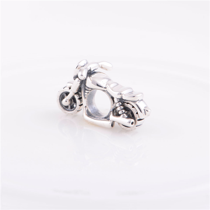 Sterling Silver 925 Fits Chamilia Charms Bracelet Motorcycle Sports Design Charm Beads European Style Women DIY Jewelry sterling silver 925 fits chamilia charms bracelet motorcycle sports design charm beads european style women diy jewelry