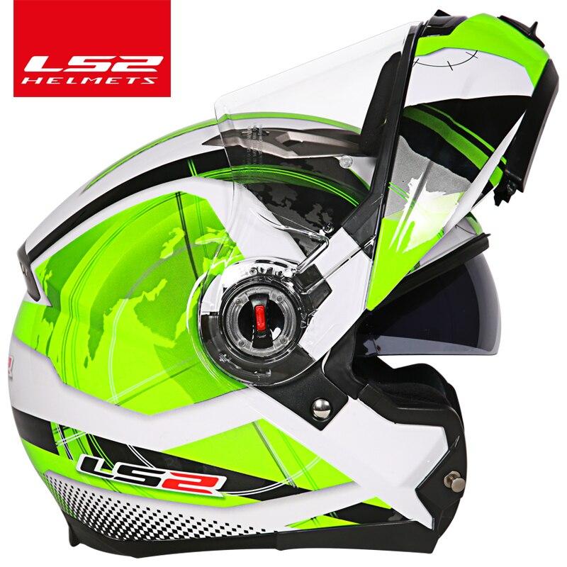 capacete ls2 ff370 Мотоцикл дулыға casco de moto - Мотоцикл аксессуарлары мен бөлшектер - фото 4