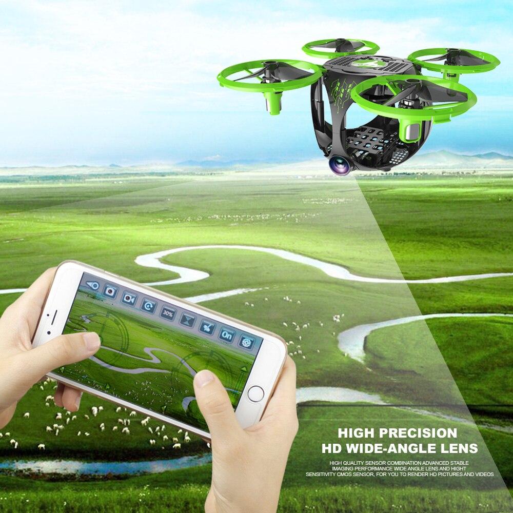 FQ26 WiFi FPV Mini Drone Quadrocopter with Camera 0.3MP Altitude Hold G-sensor Foldable Dron Quadrupter APP Phone Control RTF (14)