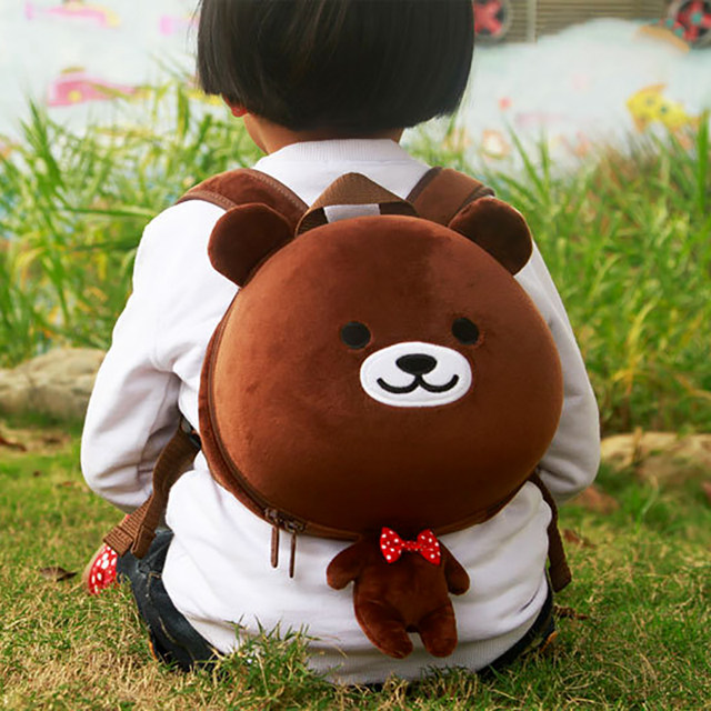 Online Shop HOT baby Lovely frog Bear School Backpack kids Kawaii ...