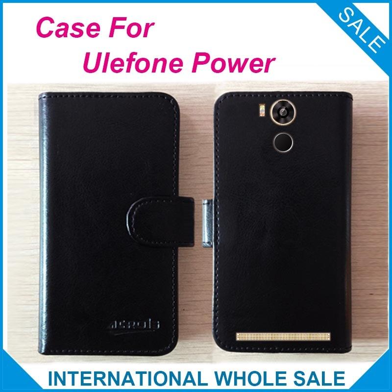 Heiß! 2016 Ulefone Power Case Telefon, Neuankömmling Fabrikpreis Leder Exklusive Schutzhülle für Ulefone Power Tracking-Nummer