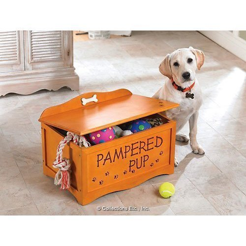 Bon Wooden Dog Toy Storage Box Exported To The US Pet Supplies Pet Package Storage  Basket Storage