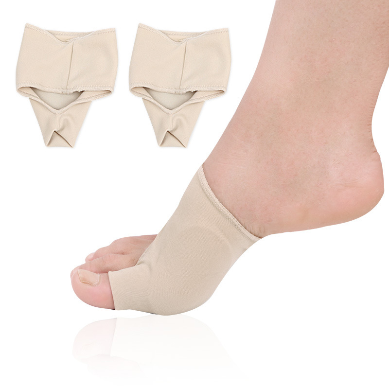 1 Pair Bunion Protector Lengan Hallux Valgus Korektor Pain Relief Perawatan Kaki Alat Sol Ortopedi Tumpang Tindih