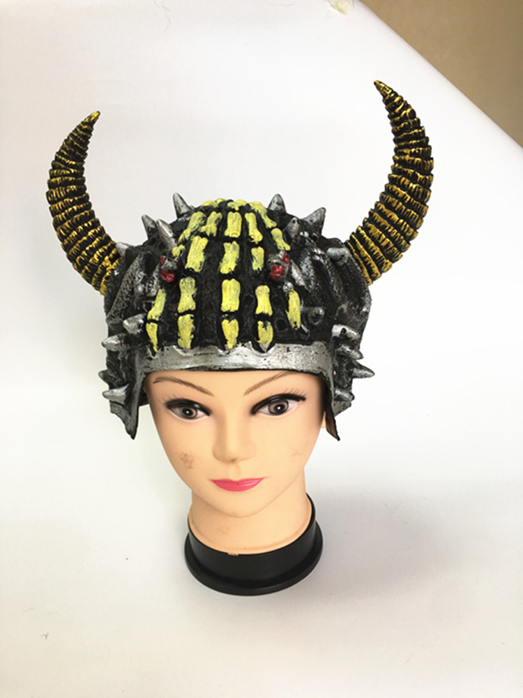 Party Ancient Rome Helmet Cosplay Warrior Cap Hat Costume Halloween Props Purim Role Play Crease-Resistance Novelty & Special Use