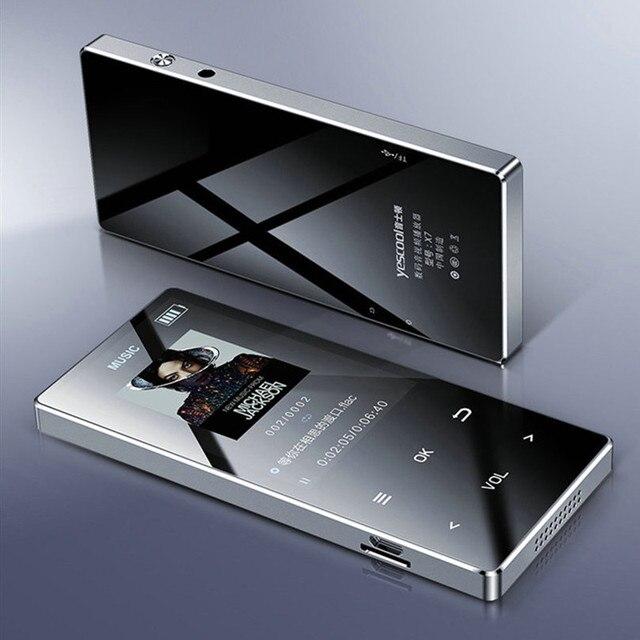 X7 lettore MP3 MP4 xe người chơi màn hình cảm ứng với Bluetooth FM Đài phát thanh âm nhạc lecteur Đầu ghi 5 V USB reproductor Mini thể thao máy nghe nhạc