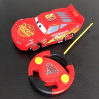Disney pixar car3 22cm Remote control toy car 1:20 electric Plastic Emulational Model Toys car lightning McQueen Storm Jackson
