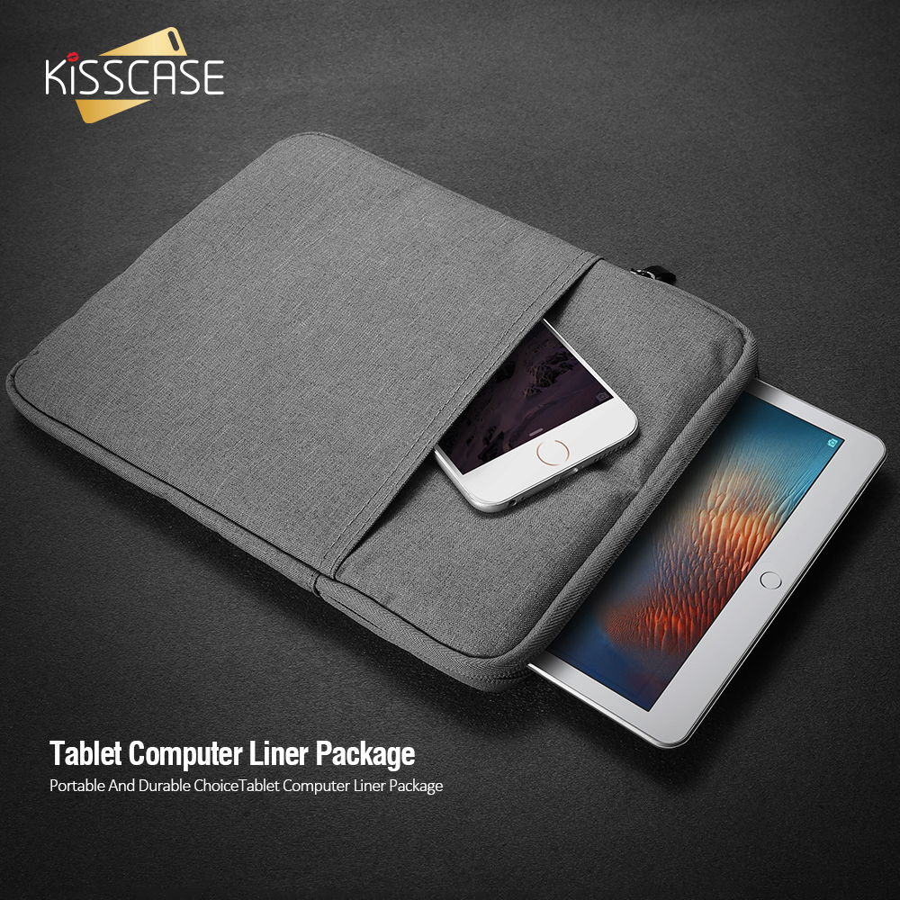 KISSCASE Shockproof Tablet Sleeve Pouch Case For iPad Mini 2 3 4 7.9inch For iPad 2 3 4 Air 1 2 iPad Pro Mini 9.7 inch Bag Cover