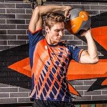 2019 New Arrival Men Summer Soccer Jerseys Quick-Dry T-Shirt Men's Top Fitness Jogging Running Shirts Training Sportswear original new arrival nike men s t shirts sleeveless sportswear