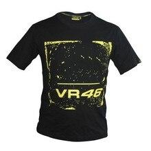 Kodaskin Free Shipping 100% Cotton MOTOGP T-shirt Luna Rossi VR 46 T-Shirt Summer Motorcycle T-Shirt Casual Sports T-shirts