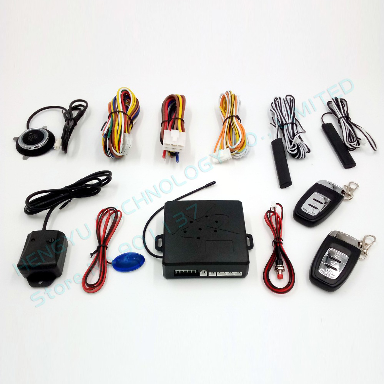 Smart Pke Passive Keyless Entry Car Alarm System Remote