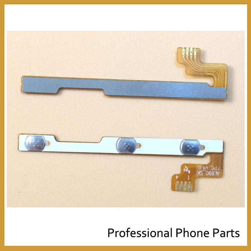 Original For Lenovo P70 Power Volume Button Flex Cable In Mobile Phone Parts Replacement