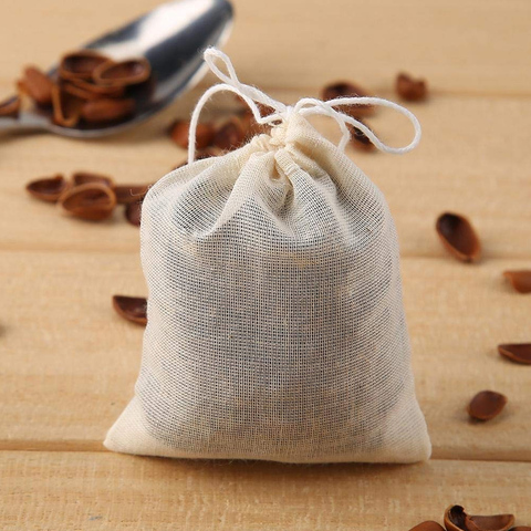 20pcs Tea Bags for Tea Bag Infuser with String Heal Seal Sachet Filter Kitchen Gadgets Lahore