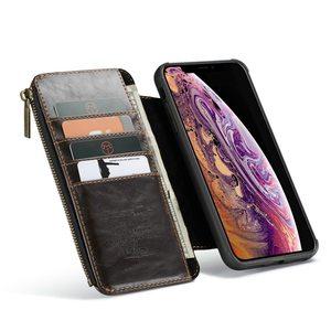 Image 5 - Geldbörse Armband Telefon fall Für Iphone 11 pro max Ix Xr Xs Max 6 6s 7 8 Plus Se 2020 Apple Coque Luxus Leder Schutzhülle