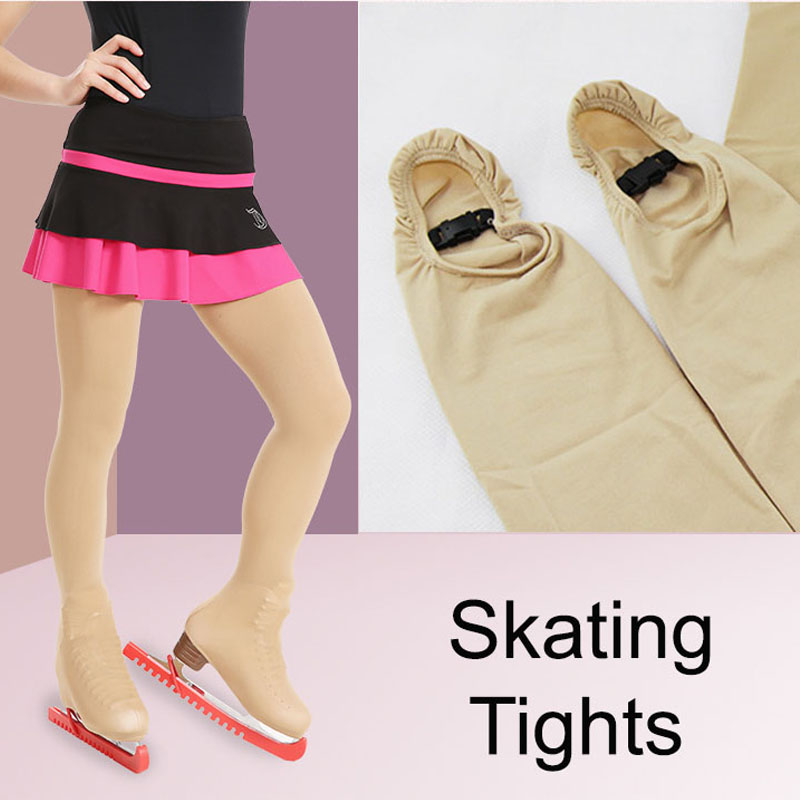 Support Dance Nude Thick Skating Tights DBT21