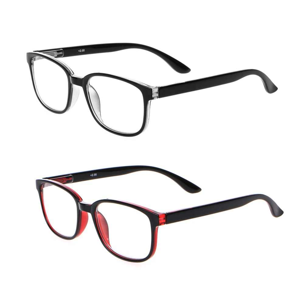 Anti Blue Light Reading Glasses Unisex Glasses Progressive Multifocal Eyewear Business Men High Quality