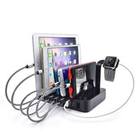 USB Charging Station Dock Stand Holder 8 Ports 2 4A Multi Function Universal USB Charger For