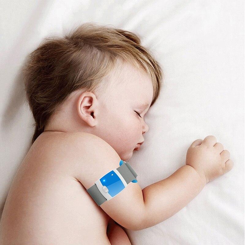 Bluetooth 4.0 À Distance Enfants Portable Électronique Thermomètre Intelligent Corps Infantile Température Surveillance Soins Infirmiers À Domicile Thermomètres