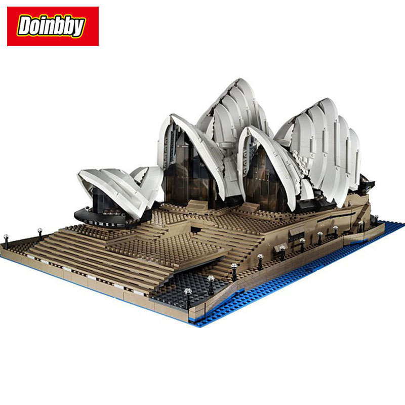 Lepin 17003 Sydney Opera House City Series Model Building Block Bricks Toys Children Gifts Compatible 10234 1713 city swat series military fighter policeman building bricks compatible lepin city toys for children