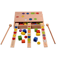 Montessori Bead Sequencing Set Block Toys Classic Toy educational kids toys