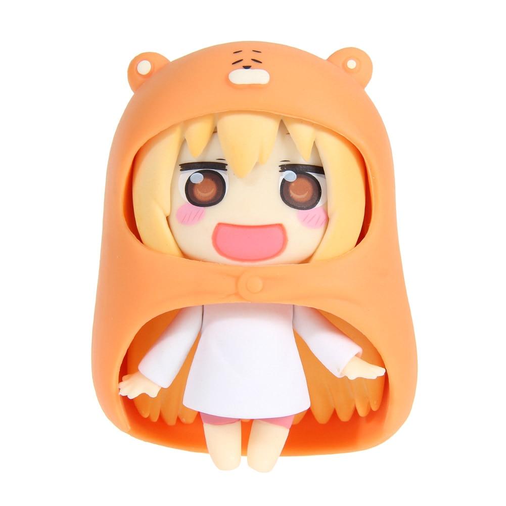 Baby Toys 10cm Nendoroid Figure Umaru Anime Figurines Himouto Umaru-chan Doma 10cm/4 New Collection Model Doll Kids Toys 2016 new anime himouto umaru chan cosplay wig peruca