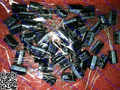 50PCS    25V 680uF 10x17 105 degrees