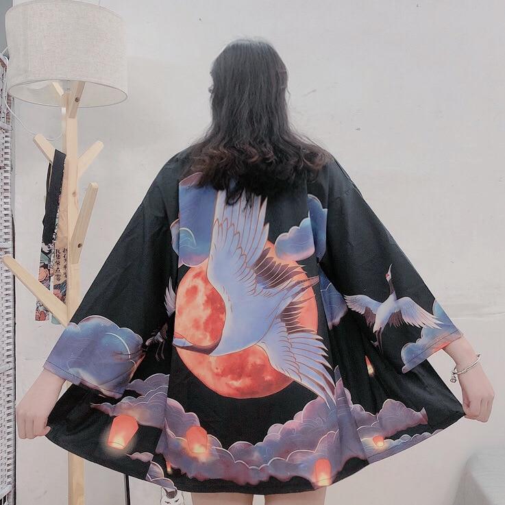 Traditional Japanese Kimonos Cardigan Kimono Women 2019 Summer Japanese Kimono Yukata Japanese Kimono Traditional