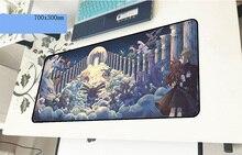 Pokemons геймерский коврик для мыши толстый 700x300x3 мм игровой коврик для мыши Новое поступление аксессуары для ноутбуков ПК коврик для ноутбука эргономичный коврик