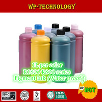 8PK Pigment ink suit for EPSON Stylus photo R1800 R800 series printer ,1000mL per color , 8L total water proof ink.